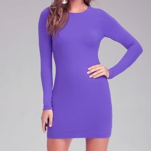 BEBE | Long Sleeve Bodycon Dress Size XS